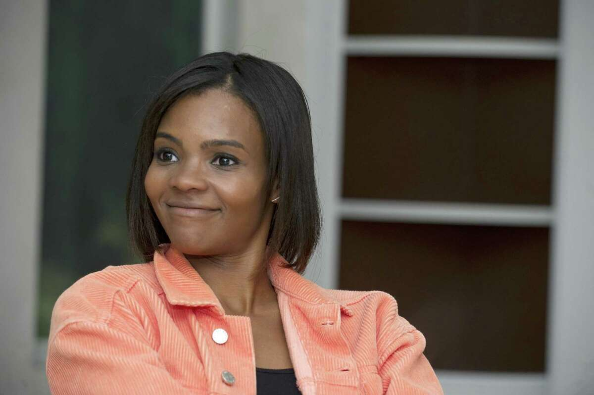 Stamford native Candace Owens, the communications director for Turning Point USA and Fox News contributor, poses for a photo in Greenwich, Conn. on Monday, Sept. 10, 2018.