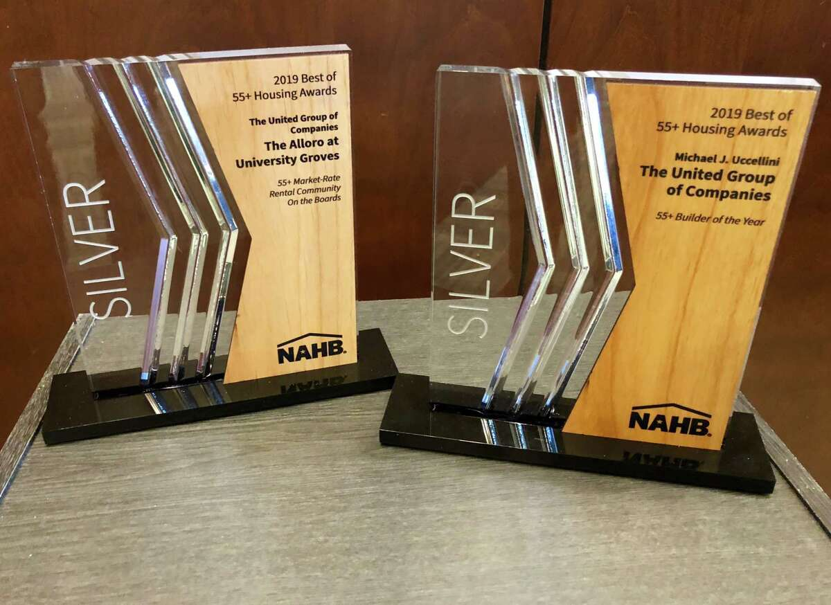 Awards for the Troy-based United Group from the National Association of Home Builders. (Provided)