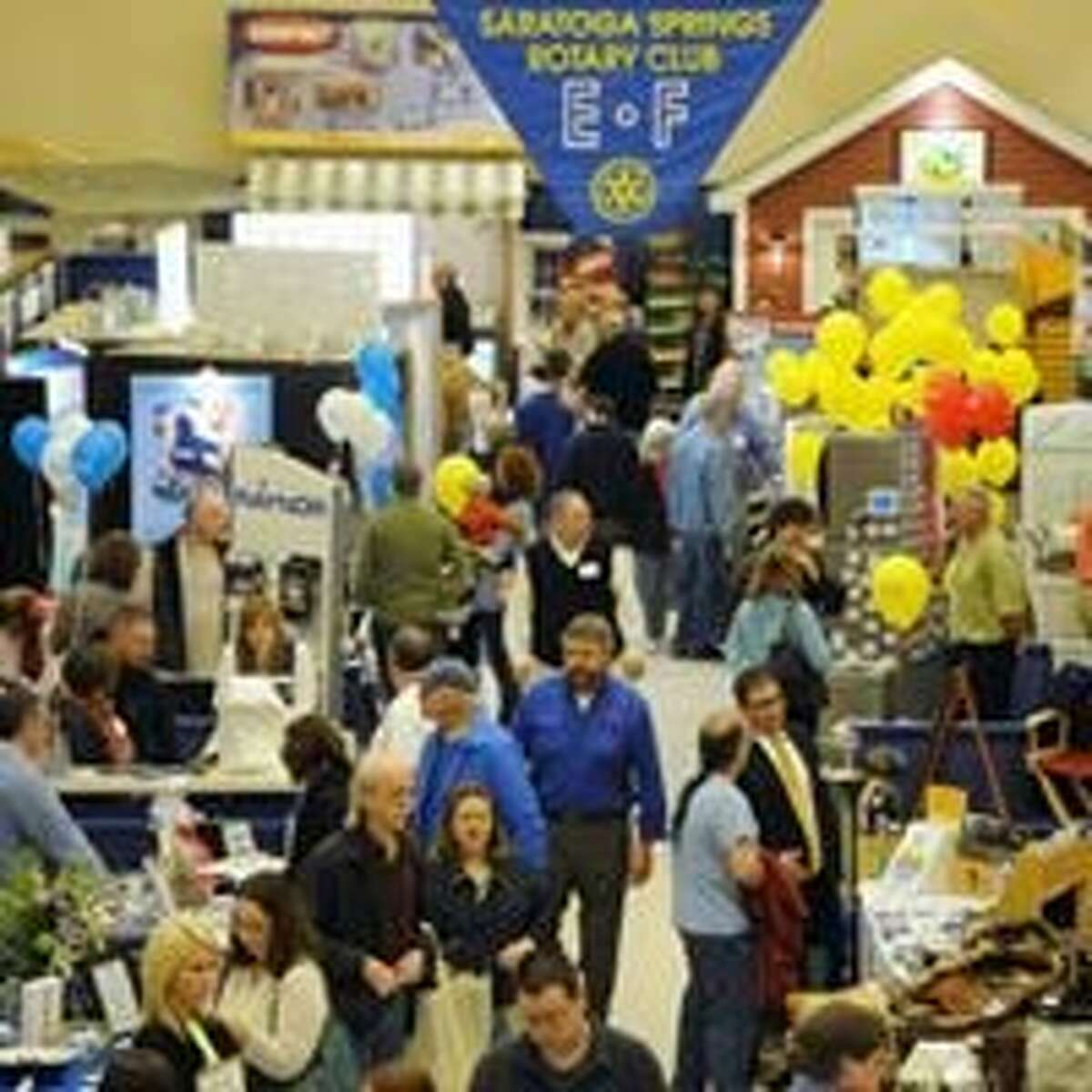 A shot of the crowd at the 2018 Saratoga Home & Lifestyle Show. (Provided photo)