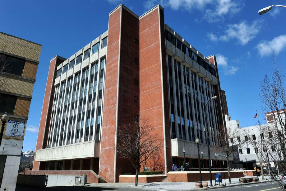 Exterior of the Fairfield County Courthouse, in Bridgeport. Photo: Ned Gerard / Hearst Connecticut Media / Connecticut Post