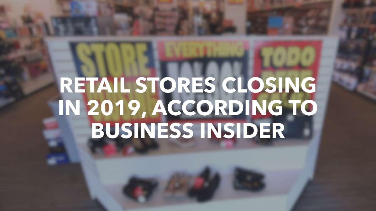 Click ahead to view retail stores closing in 2019.