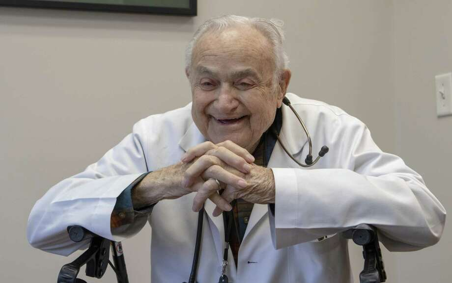 Dr. Joel Reed speaks about his life and work Thursday, Feb. 28, 2019 at the Interfaith Community Clinic in The Woodlands. Photo: Cody Bahn, Houston Chronicle / Staff Photographer / © 2018 Houston Chronicle