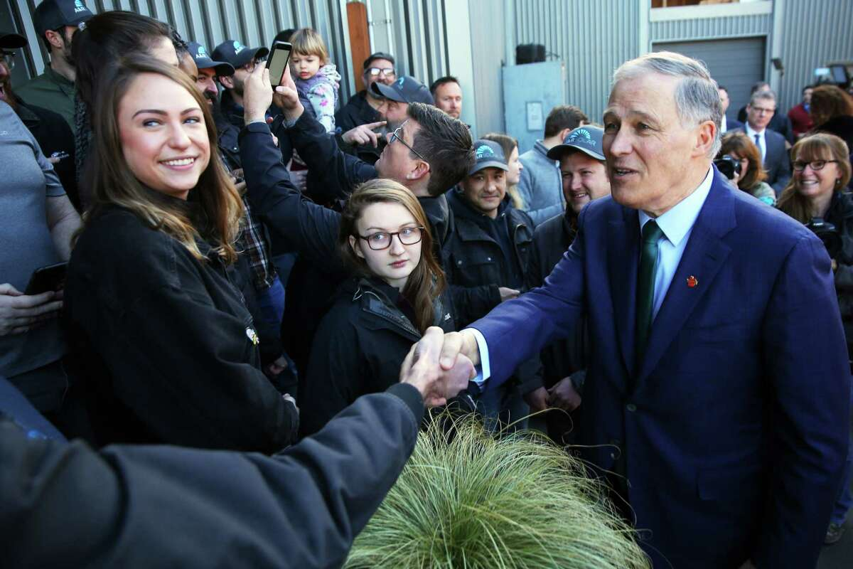 Washington Gov. Jay Inslee: He's at under 1 percent in latest Quinnipiac poll of support in the Democrats' big field of presidential candidates. .