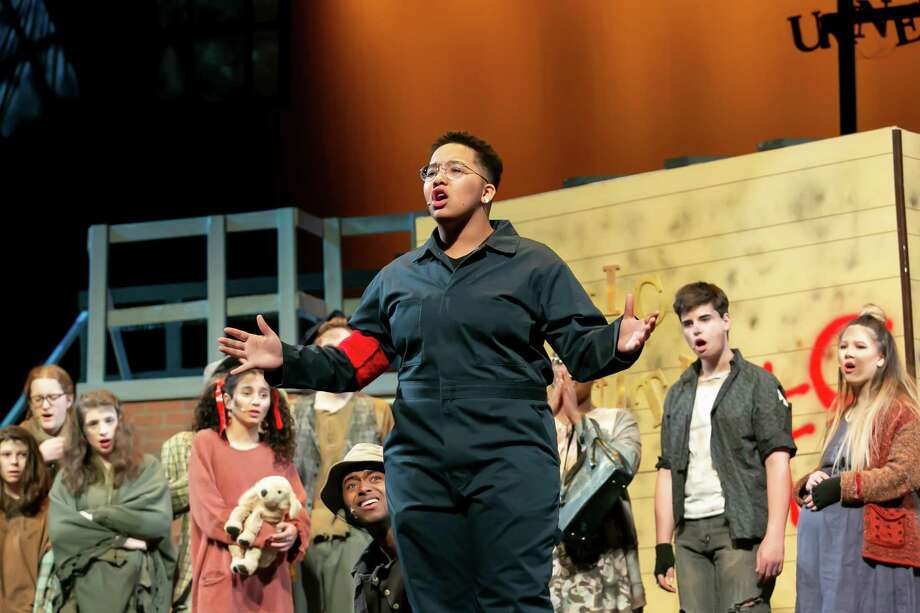 """Middletown High School students are bringing """"Urinetown"""" to the performing arts center on LaRosa Lane this weekend. Shows are Friday and Saturday at 7 p.m. with a matinee Saturday at 1 p.m. Photo: Sandy Aldieri / Perceptions Photography"""