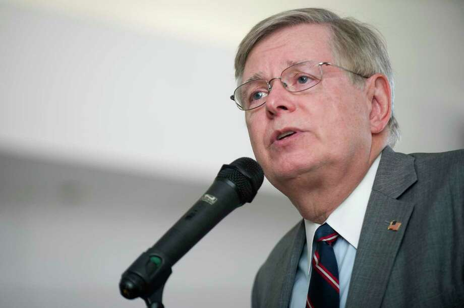 Stamford Mayor David Martin. To date, Stamford's municipal government has not filed a lawsuit against Stamford-based Purdue Pharma, the maker of the controversial OxyContin opioid. Photo: Michael Cummo / Hearst Connecticut Media / Stamford Advocate