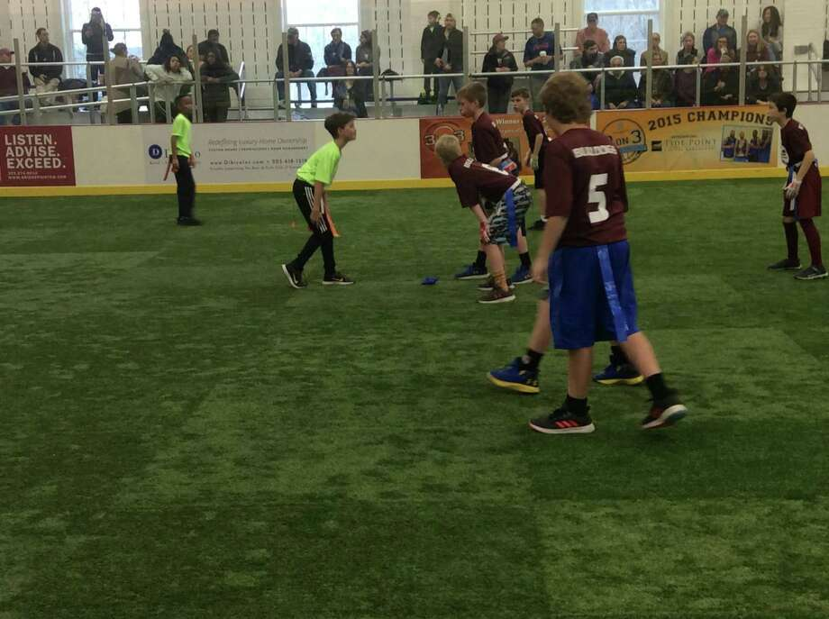Indoor Flag Football, Boys & Girls Club-based league, will conclude its first season on Sunday with its four division championship games. Photo: Submitted Photo