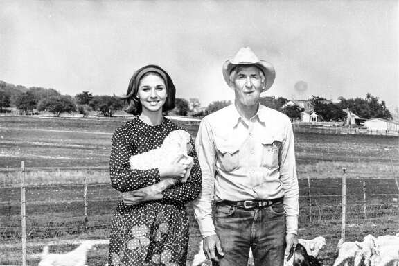 Becky Crouch, 18, with her father Hondo.