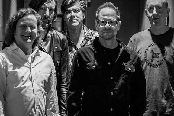 The Gin Blossoms, Scott Johnson, left, Scott Hessel, Jesse Valenzuela, Robin Wilson and Bill Leen, will perform at Stamford's Alive@Five music series at Columbus Park on July 19.