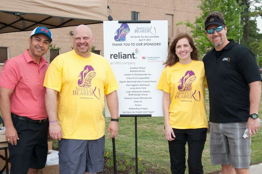 Reliant, an NRG company, presented the Shield Bearer 5K Family Fun Run and Walk on April 9. This family friendly event featured a 5K Fun Run, a 1 Mile Walk, games, t-shirts, food, giveaways, and fun for all ages. Photo: Submitted / Submitted