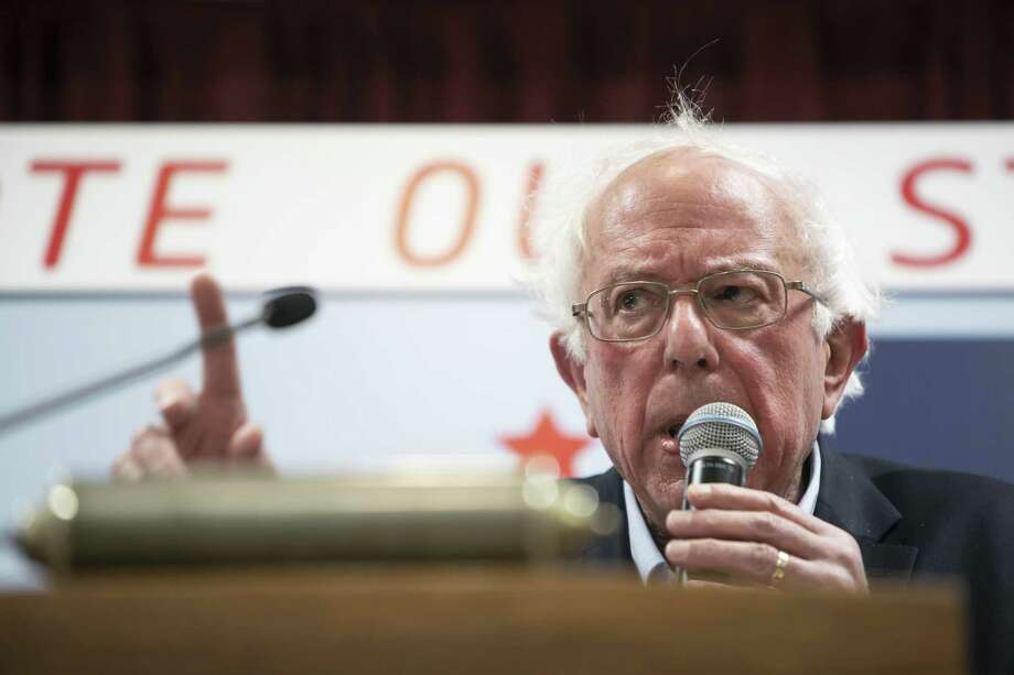 Sen. Bernie Sanders, a Democratic presidential candidate, has been criticized for saying a candidate should not be judged by the color of their skin — including him. Photo: KATHRYN GAMBLE /NYT / NYTNS