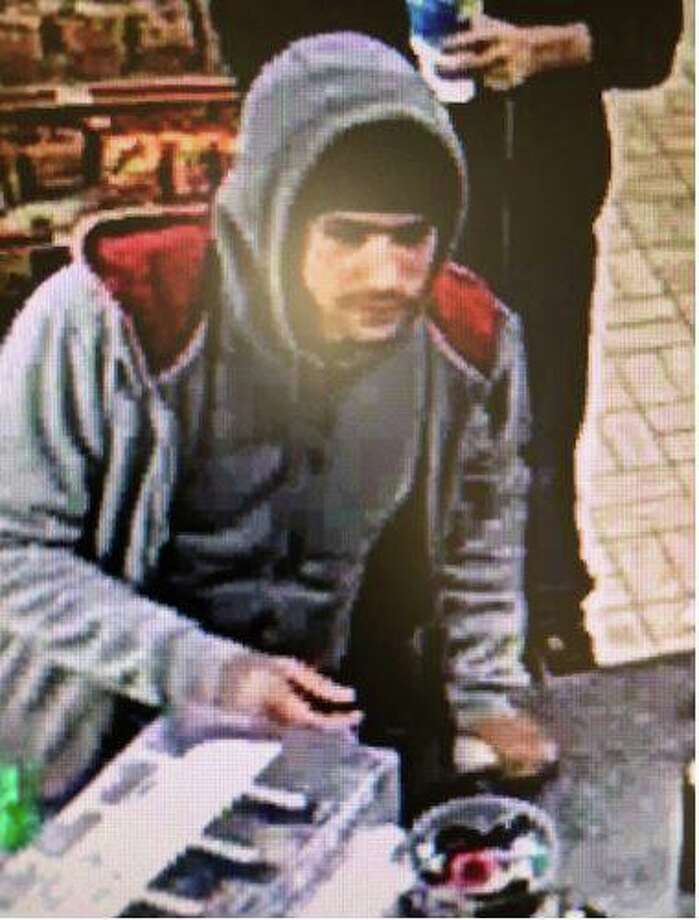 During the month of January, two subjects went around town on a shopping spree using a cloned stolen debit card. The two suspects were last seen driving a white newer model Dodge dually and a black older model GMC pickup with two extra chrome fuel tanks in the bed of the truck. Photo: Lorenzo Dominguez