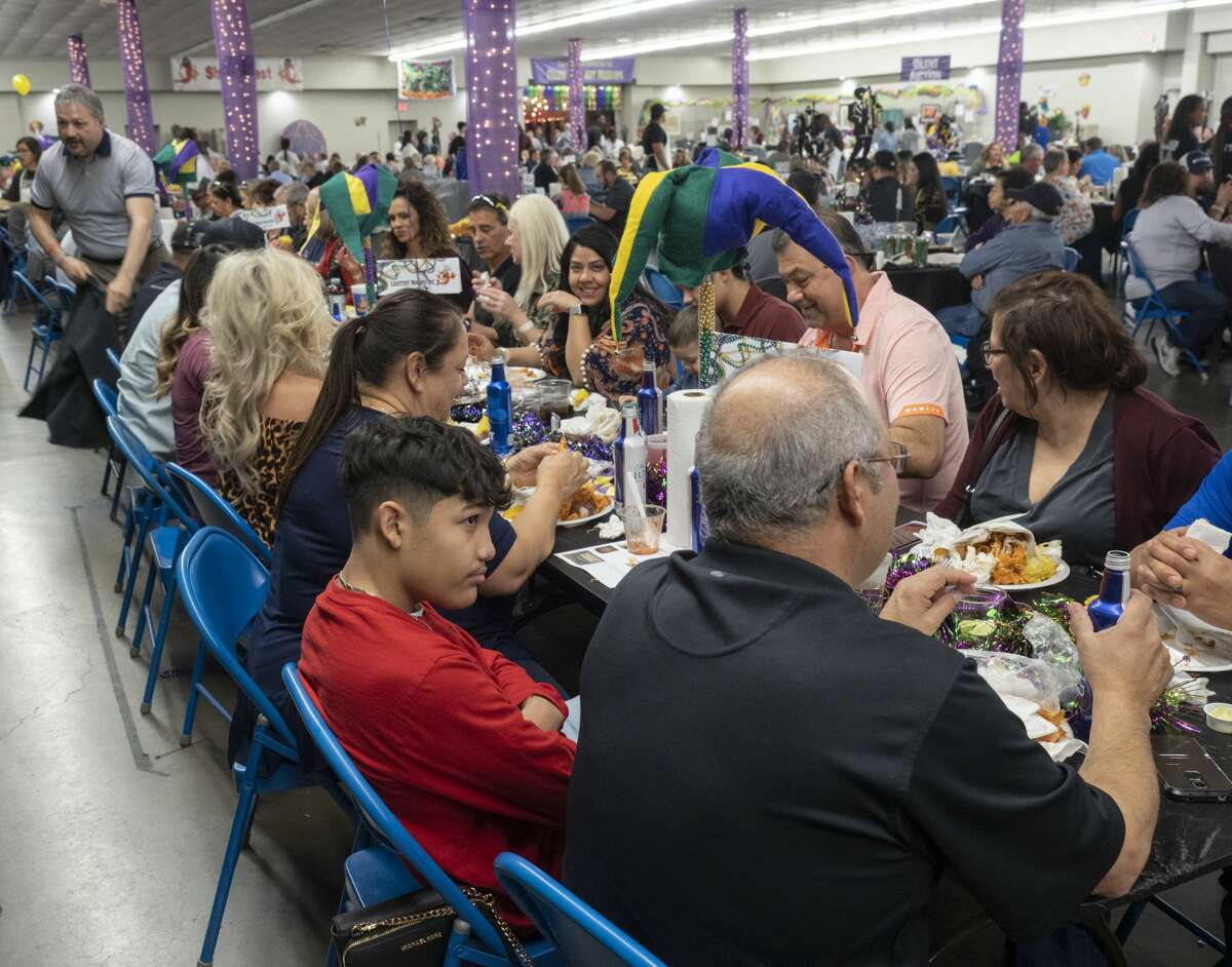Patrons of the arts and shrimp lovers gathered Monday at the 33rd annual Shrimpfest, which benefits the Ellen Noel Art Museum in Odessa.
