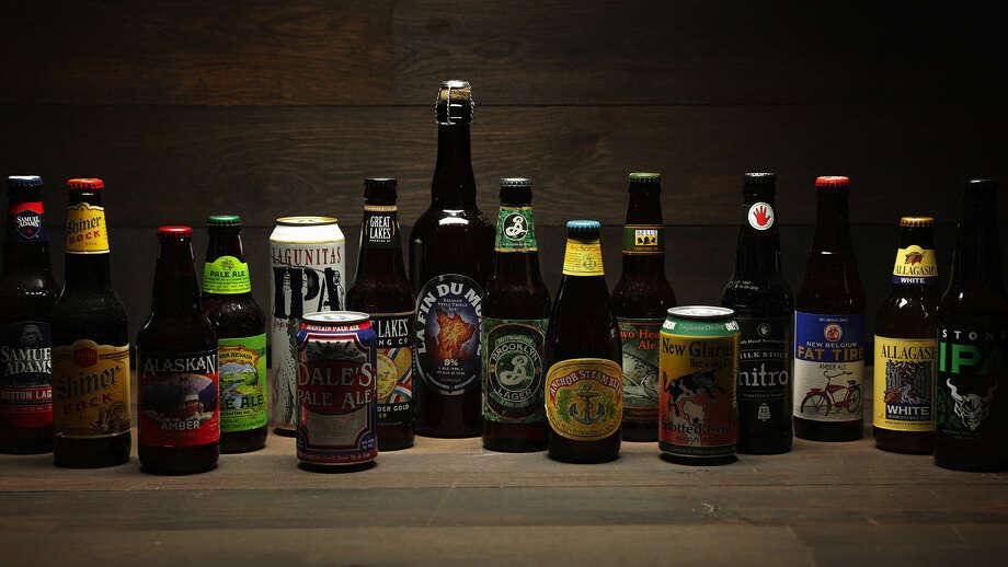 Tasting 16 craft beer classics: Flagship February shines light on brands left behind By Josh Noel, Chicago Tribune Photo: E. Jason Wambsgans/TNS