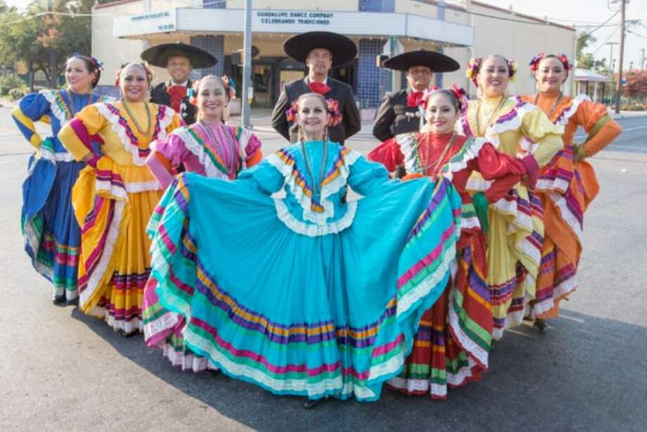 """Celebrando Tradiciones"": The Guadalupe Cultural Arts Center's ""Celebrando Tradiciones"" program takes a holiday turn this weekend with a show titled ""Fiesta de Navidad."" The Guadalupe Dance Company and Mariachi Azteca de America will present holiday-themed music and ballet folklorico.