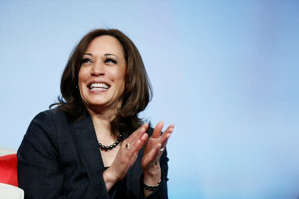 Democratic presidential candidate Sen. Kamala Harris during the Women of Power Summit at the The Mirage on Friday, March 1, 2019, in Las Vegas, Calif.