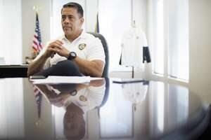 Houston Fire Department Chief Sam Peña at his office in the Houston Fire Department headquarters in Houston. Friday, July 6, 2018, in Houston. ( Marie D. De Jesús / Houston Chronicle )