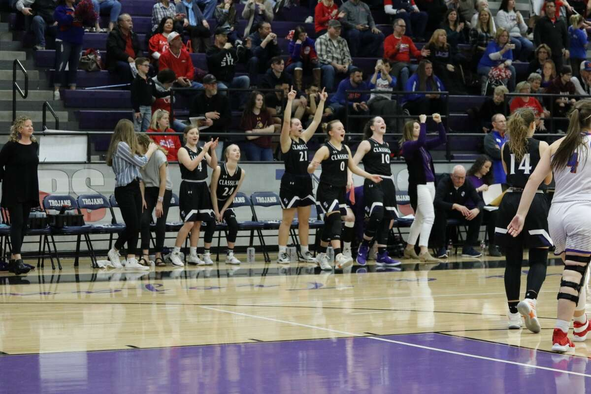 Midland Classical Academy (24-5) cruised to a 66-38 victory over Fort Worth Lake Country (26-16) in the TAPPS 3A state semifinal contest Friday morning at University High School.