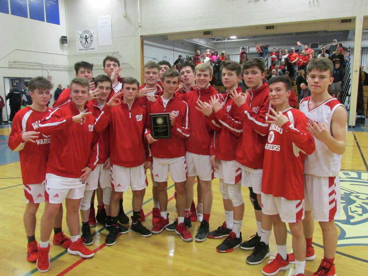 Wamogo won its third straight Berkshire League Tournament Championship Friday night in a win over Shepaug at Lewis Mills High School.