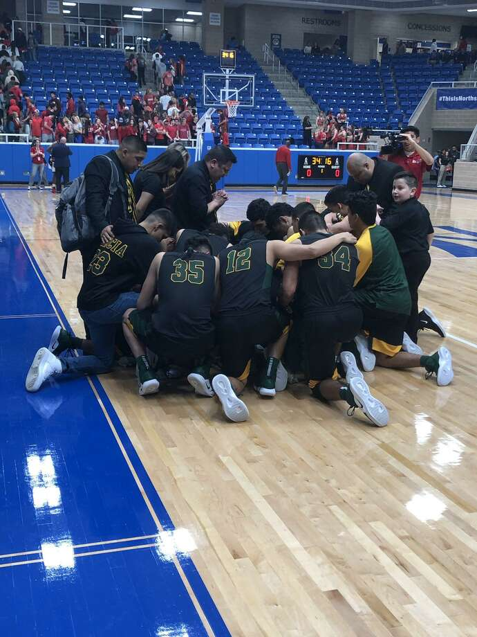 Nixon advanced to the regional finals for the second straight season in its first year in 6A winning 74-72 Friday against Austin Bowie at the Northside Sports Gym in San Antonio. Photo: Courtesy Photo