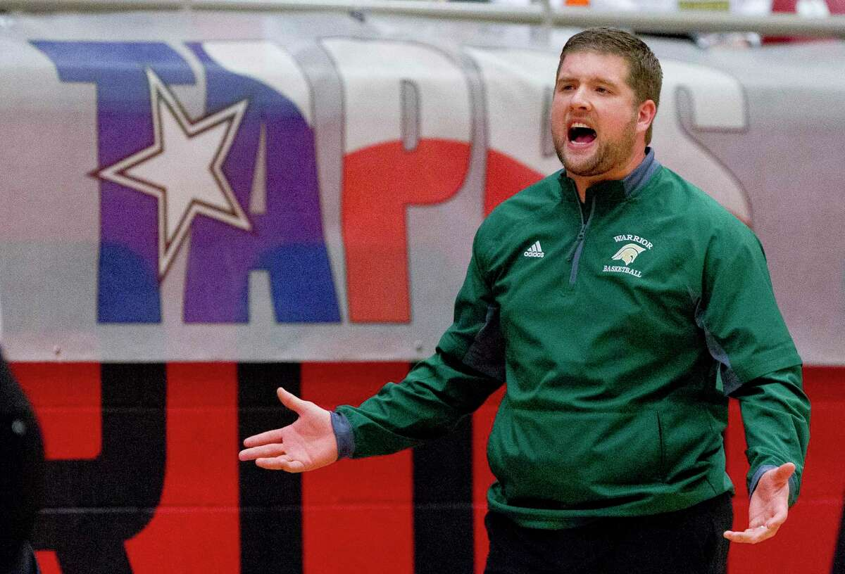 The Woodlands Christian Academy head coach Tanner Field is back and seeks to lead the Warrirors to a third-straight state title game.
