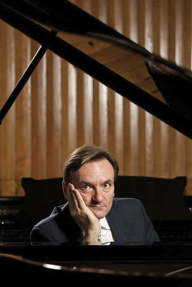 Pianist Stephen Hough joins the San Antonio Symphony for this weekend's programs. Hough will play Beethoven's Second Piano Concerto. Photo: Andrew Crowley /