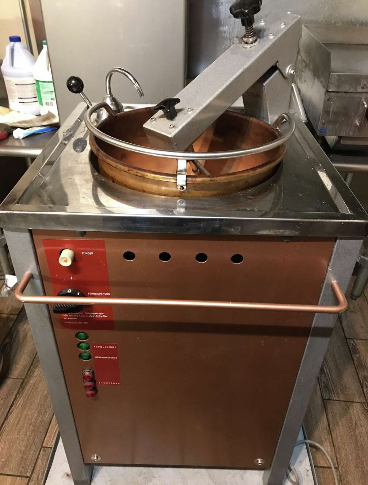 2. I enjoy making cinnamon roasted almonds for my family and friends. I have this awesome German-made copper roasting machine I bought at a garage sale. The almonds are addictive.
