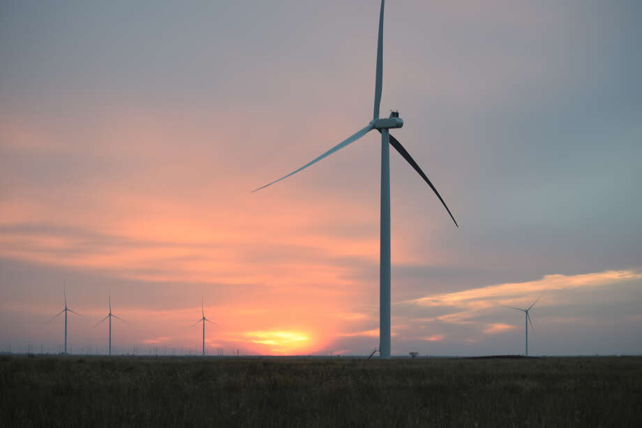 The Hale Wind Farm is expected to be completed and in operation by the end of June. Photo: Joshua Harris/Courtesy Photo