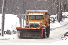 A City of Danbury plow truck. Saturday, March 2, 2019, in Danbury, Conn.