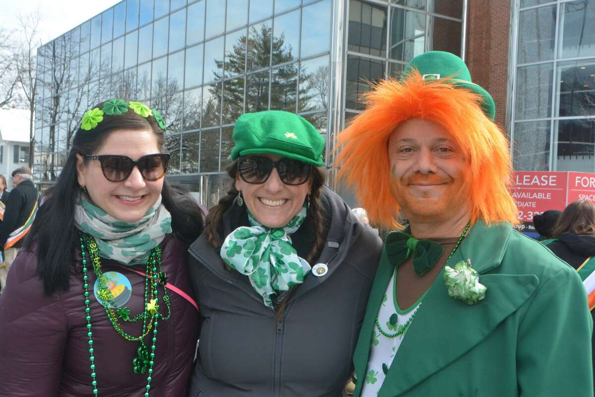 St. Patrick's Day parade Stamford held its St. Patrick's Day parade on March 2, 2019. Were you SEEN watching the parade and celebrating afterward? Click here to see more photos