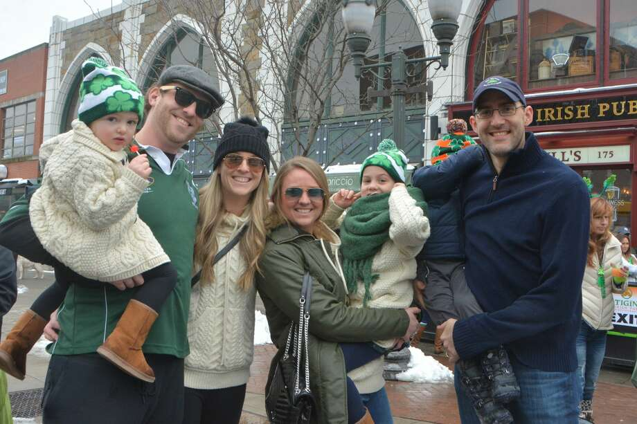 Stamford held its St. Patrick's Day parade on March 2, 2019. Were you SEEN watching the parade and celebrating afterward? Photo: Vic Eng / Hearst Connecticut Media Group