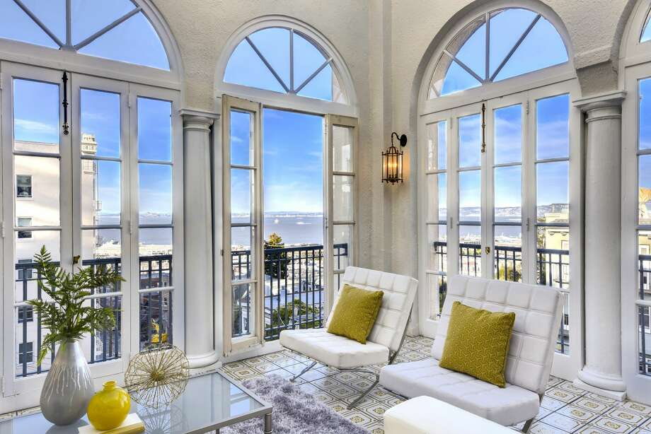Incredible Russian Hill is 5 stories of historic beauty, asking $7.850M Photo: MariannaPix, Via Keller Williams