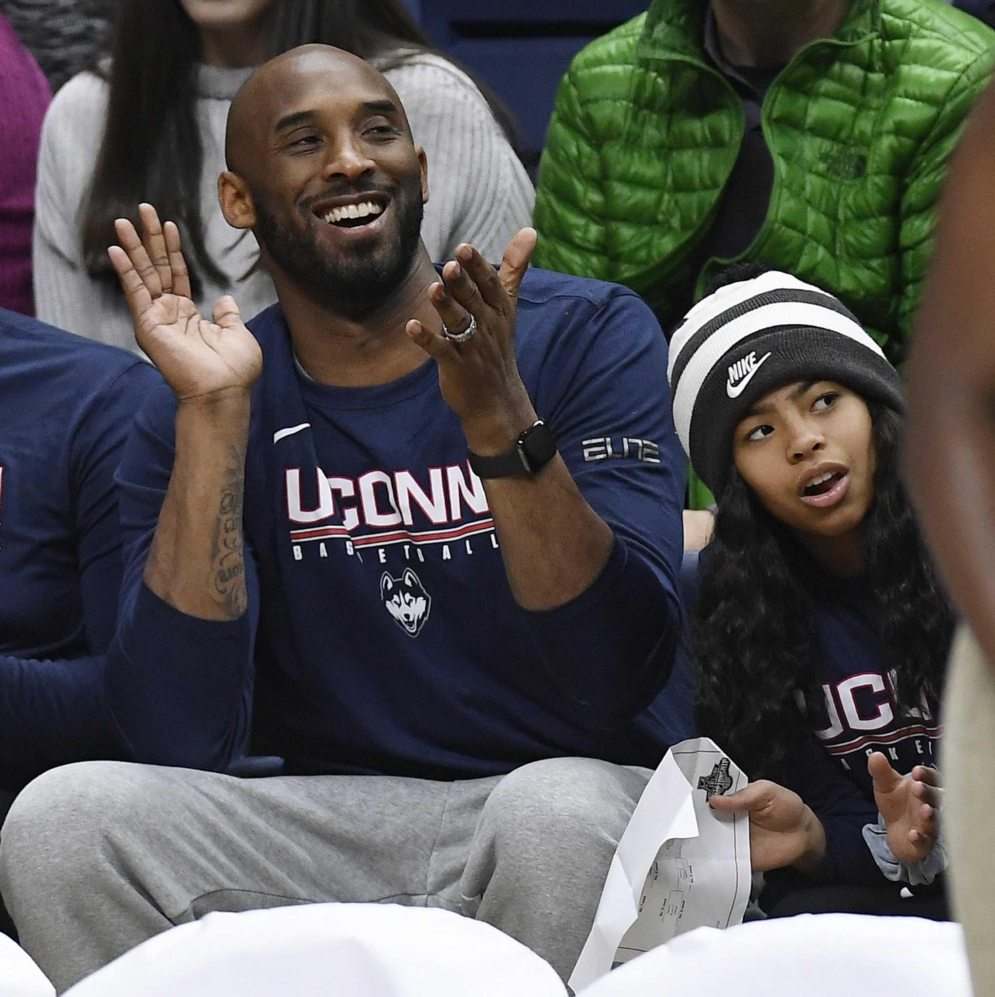 Kobe Bryant had strong ties to the UConn women's basketball program