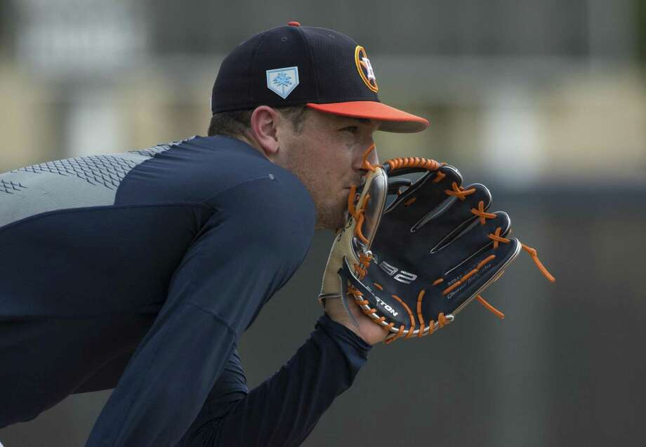 PHOTOS: Alex Bregman at spring training Alex Bregman will be paid $640,000 this season, a raise from the $599,000 he made last year. Photo: Yi-Chin Lee, Staff / Staff Photographer / © 2019 Houston Chronicle