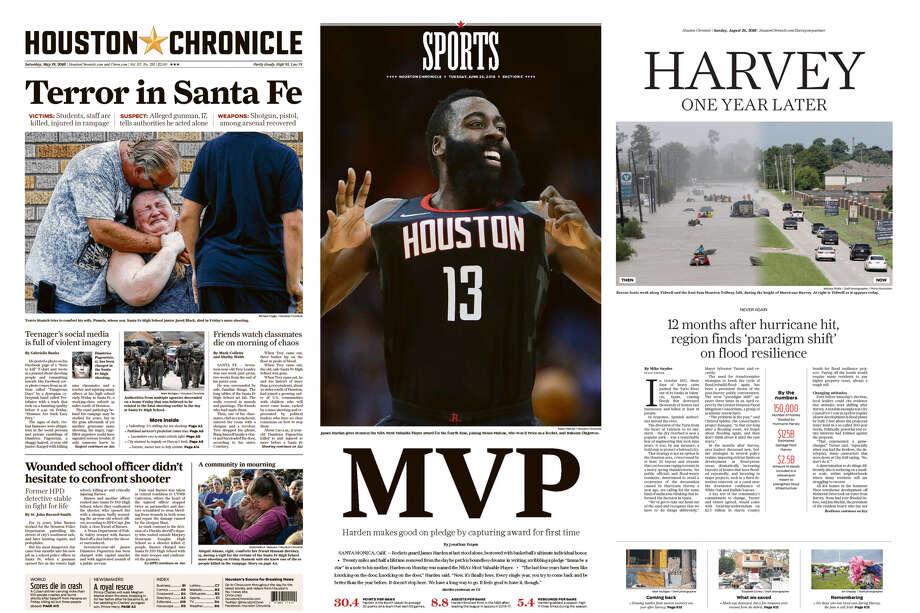 Houston Chronicle wins top awa...
