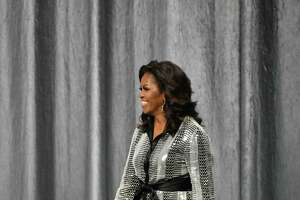 Michelle Obama at The Toyota Centner in Downtown Houston for her Becoming Book Tour on Saturday, March 2, 2019