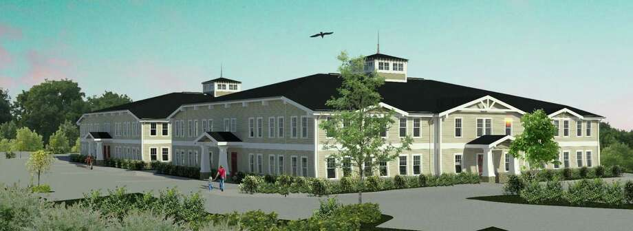 Architect's rendering of the medical complex whose construction is under consideration in the town of North Branford. Photo: Contributed Photo / Kenneth Boroson Architects