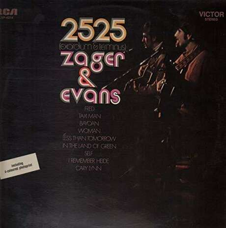 The cover of Zager and Evans 'In the Year 2525' album