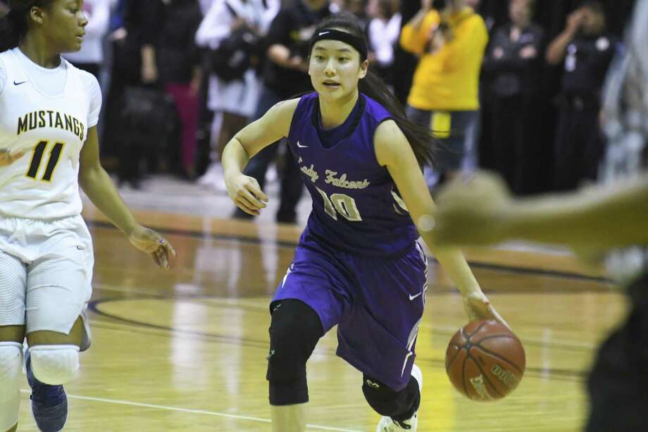 Jersey Village High School senior Kaylynne Truong was named the District 17-6A girls' basketball Most Valuable Player. Photo: Tony Gaines/ HCN, Staff / HCN / Houston Chronicle