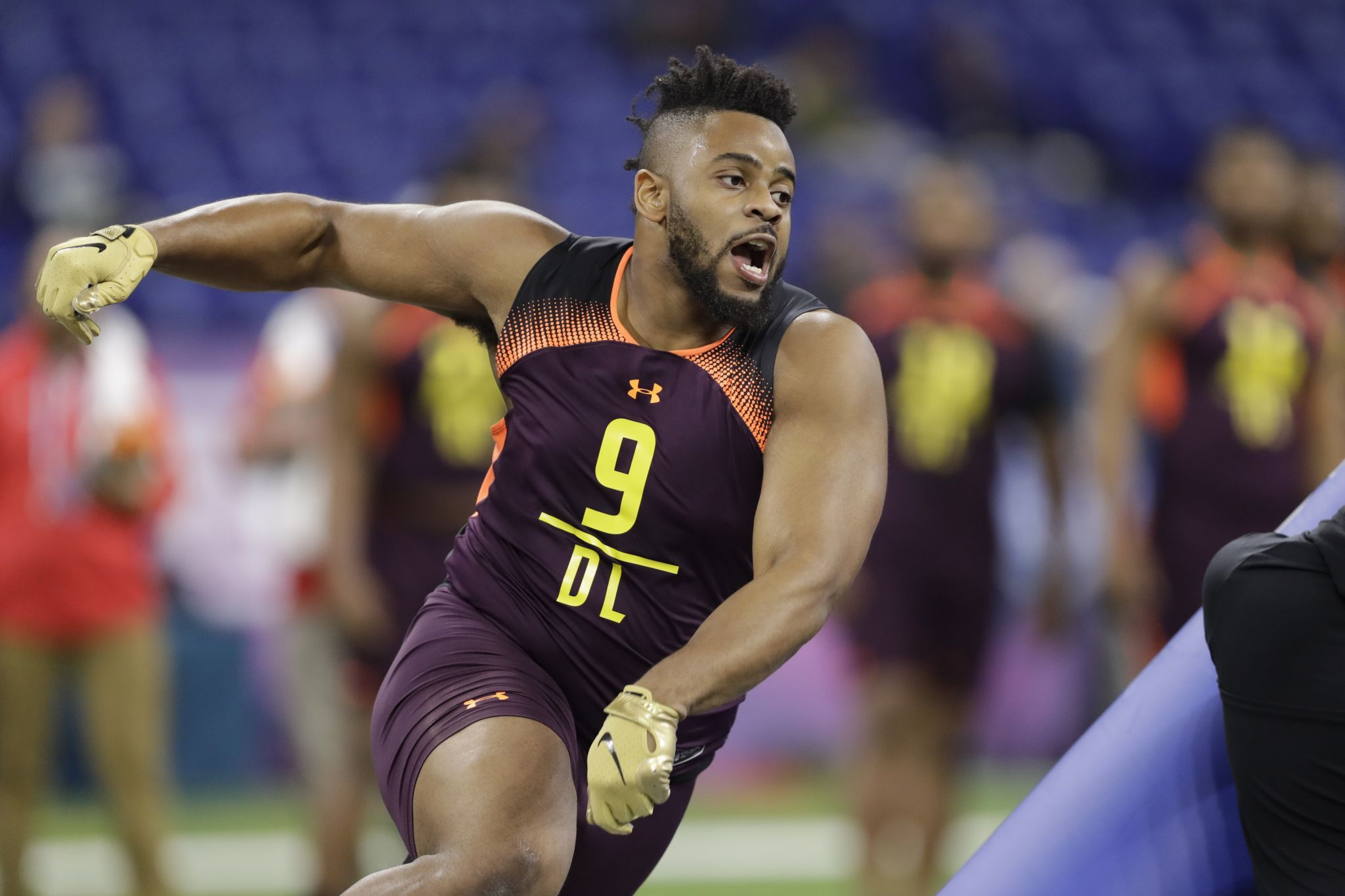 Texas A M Dt Kingsley Keke Selected By Packers In Fifth Round Houstonchronicle Com
