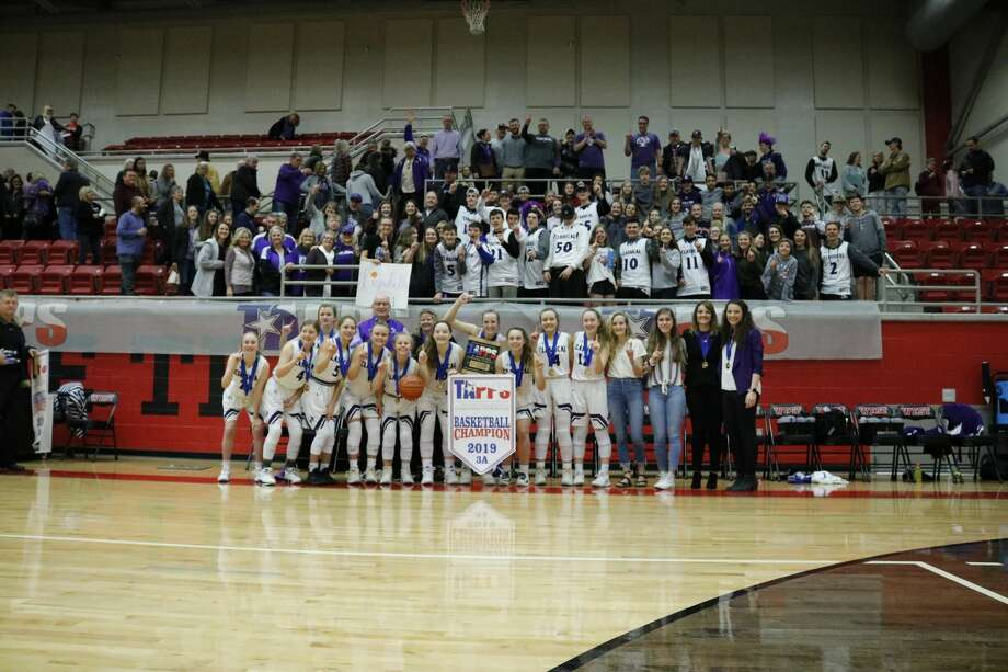 The MCA girls basketball team defeated Beaumont Legacy Christian, 72-47, in the TAPPS 3A state championship Saturday morning at West High School. Photo: Karen Sparks, Kelli Kirk