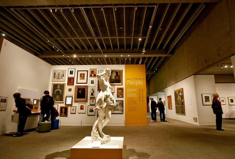 The Oakland Museum of California reopened in 2010 after a makeover that restored Kevin Roche's once-lauded design, making it look more revolutionary than ever. Photo: Michael Macor / The Chronicle 2010
