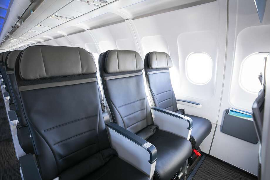 Exit row or bulkhead seats offer significantly more legroom...but you'll have to pay for that space. Worth it? I think so! Photo: Alaska Airlines
