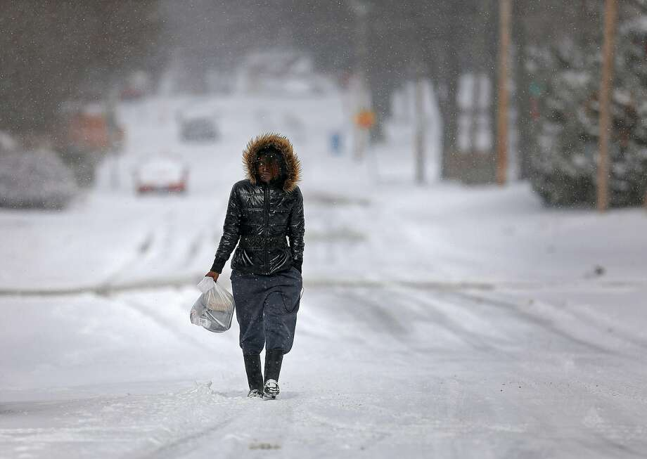 Over the entire month of February and even into March, such exceptional, life-threatening cold never departed parts of Montana. Temperatures averaging 20 to 30 degrees below normal gripped huge areas in the state, as well as parts of the Dakotas. Photo: Colter Peterson, Associated Press