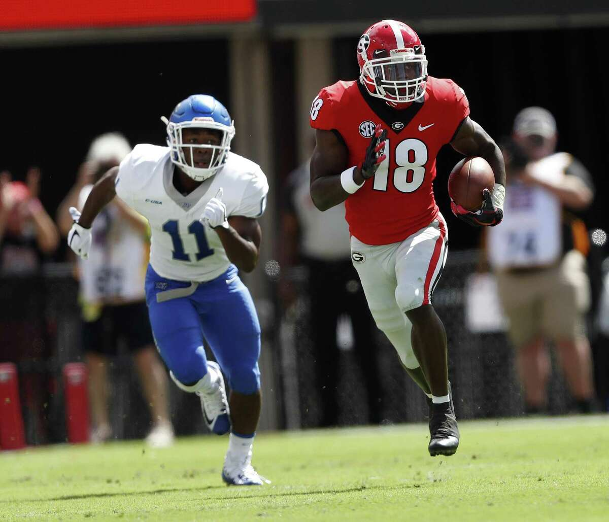 Georgia defensive back Deandre Baker is expected to start immediately after being taken in the NFL draft.