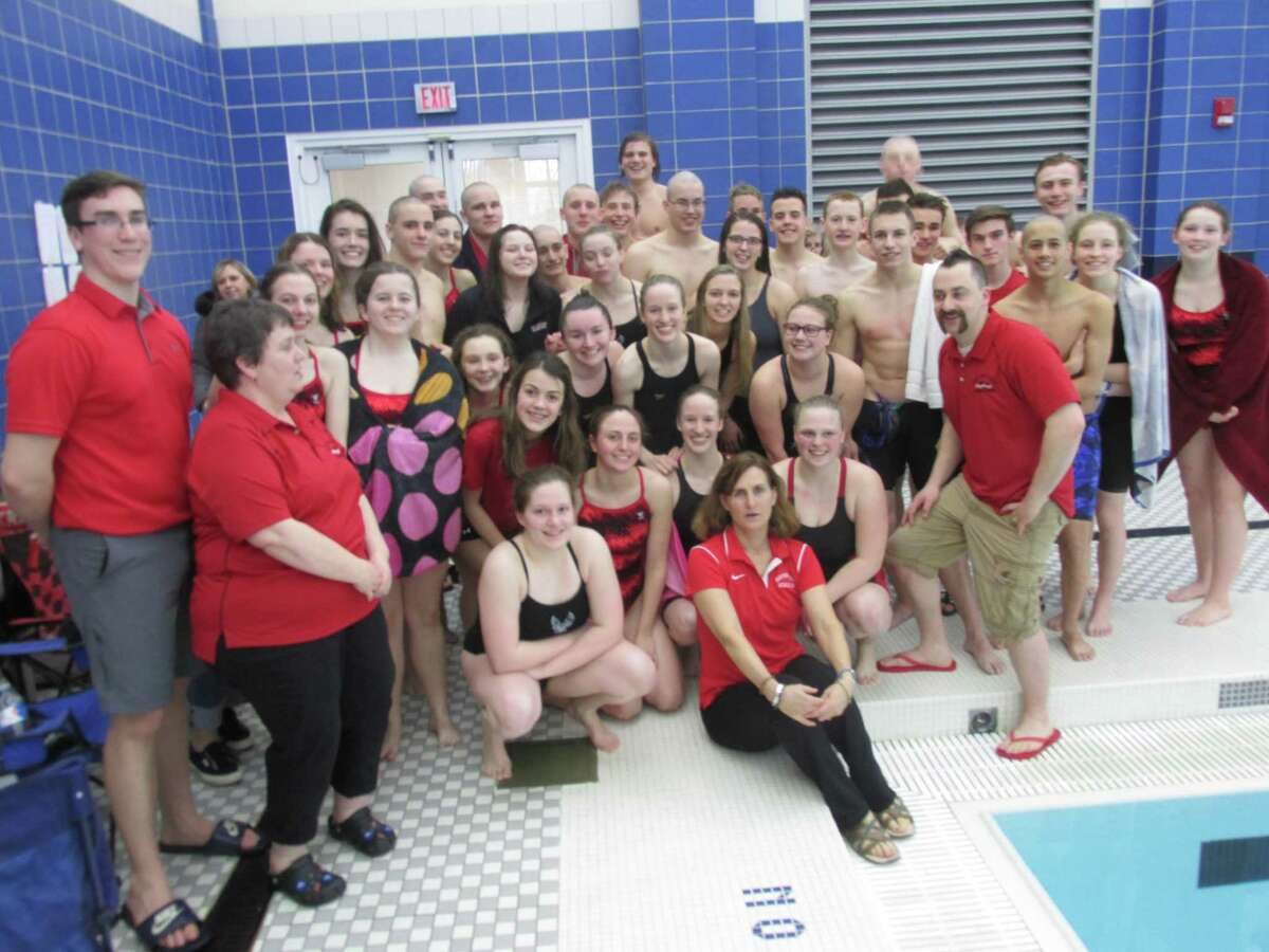 Northwestern pulled away to its seventh straight Berkshire League Swimming and Diving Championship Sunday afternoon at The Hotchkiss School.