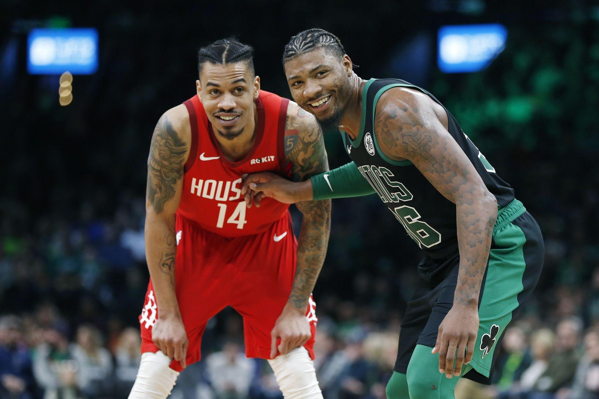 Former Houston high school stars in the 2019 NBA playoffs