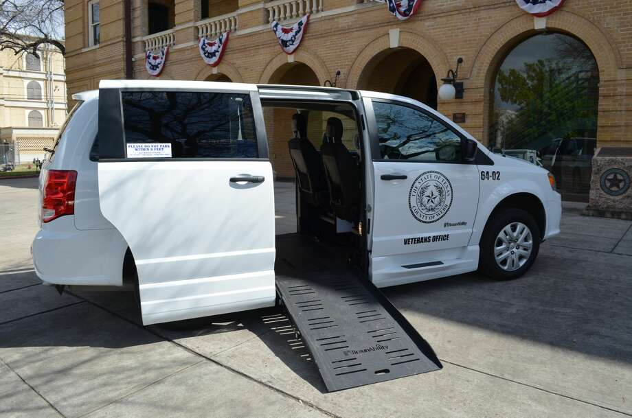 The new van is equipped with the latest equipment to make the transportation of veterans easier. Photo: Courtesy