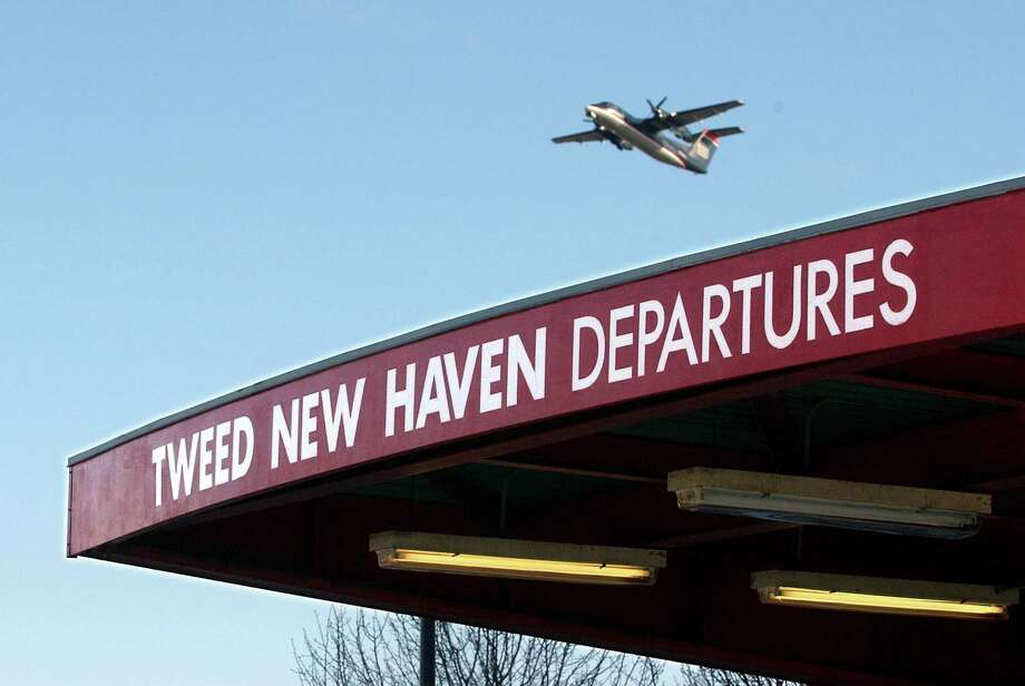 Flooding concerns could impede on plans to expand Tweed airport in New Haven. Photo: File Photo