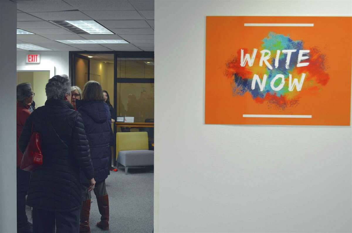 Encouraging a writers community is the Fairfield County Story Lab, which opened on Friday, March 1, 2019, in Westport, Conn.