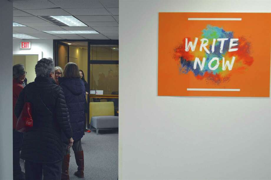 Encouraging a writers community is the Fairfield County Story Lab, which opened on Friday, March 1, 2019, in Westport, Conn. Photo: Jarret Liotta / For Hearst Connecticut Media / Westport News Freelance